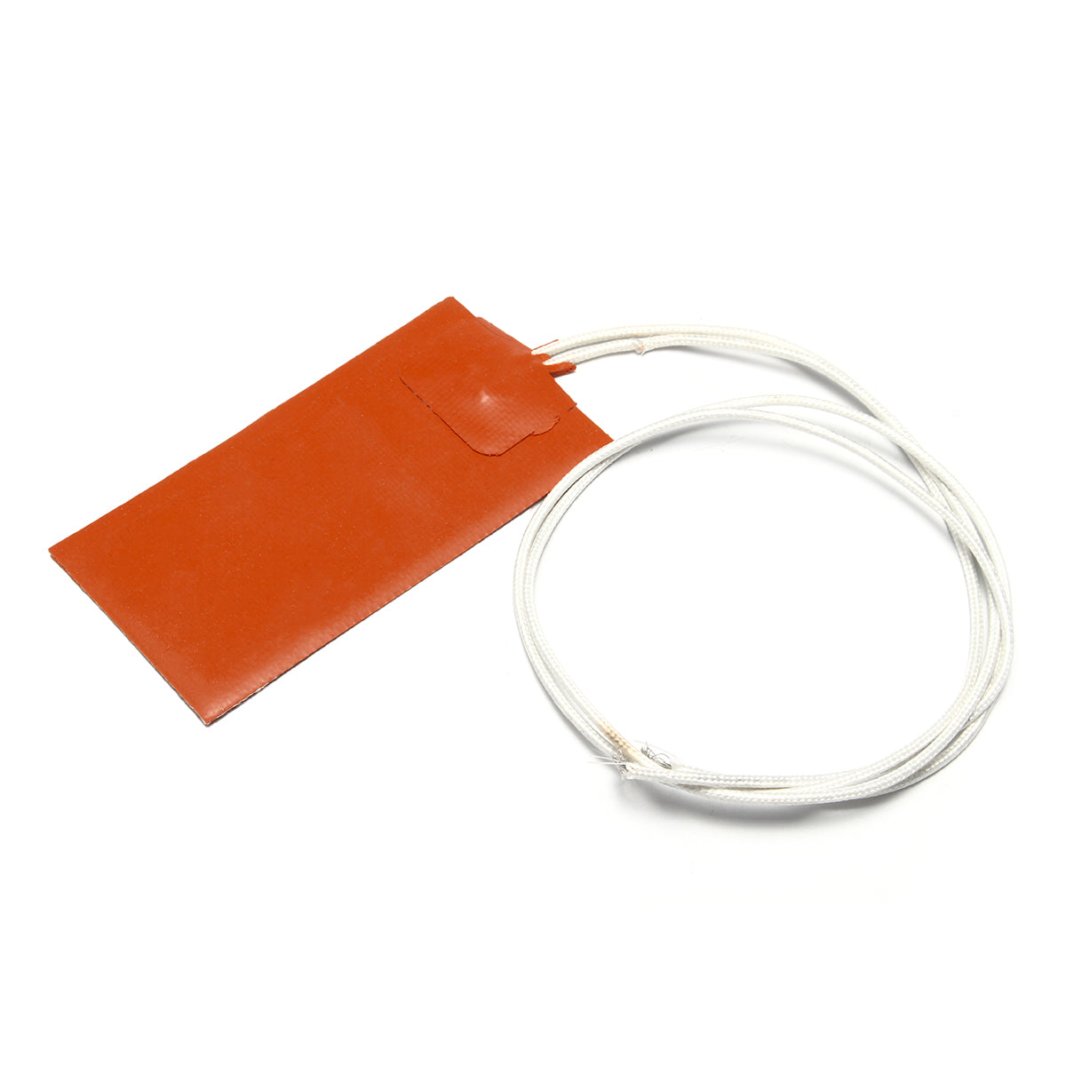 15W 12V DC 50*100mm Flexible Waterproof Silicon Heater Pad Wiht Wire For 3D Printer