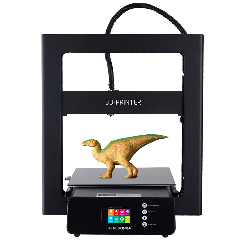 JGAURORA® A5/A5S Upgraded DIY 3D Printer Kit 305*305*320mm Printing Size Support Power Failure Resume&Filament Run-out Detection with 2.8-inch Colorful Touchscreen
