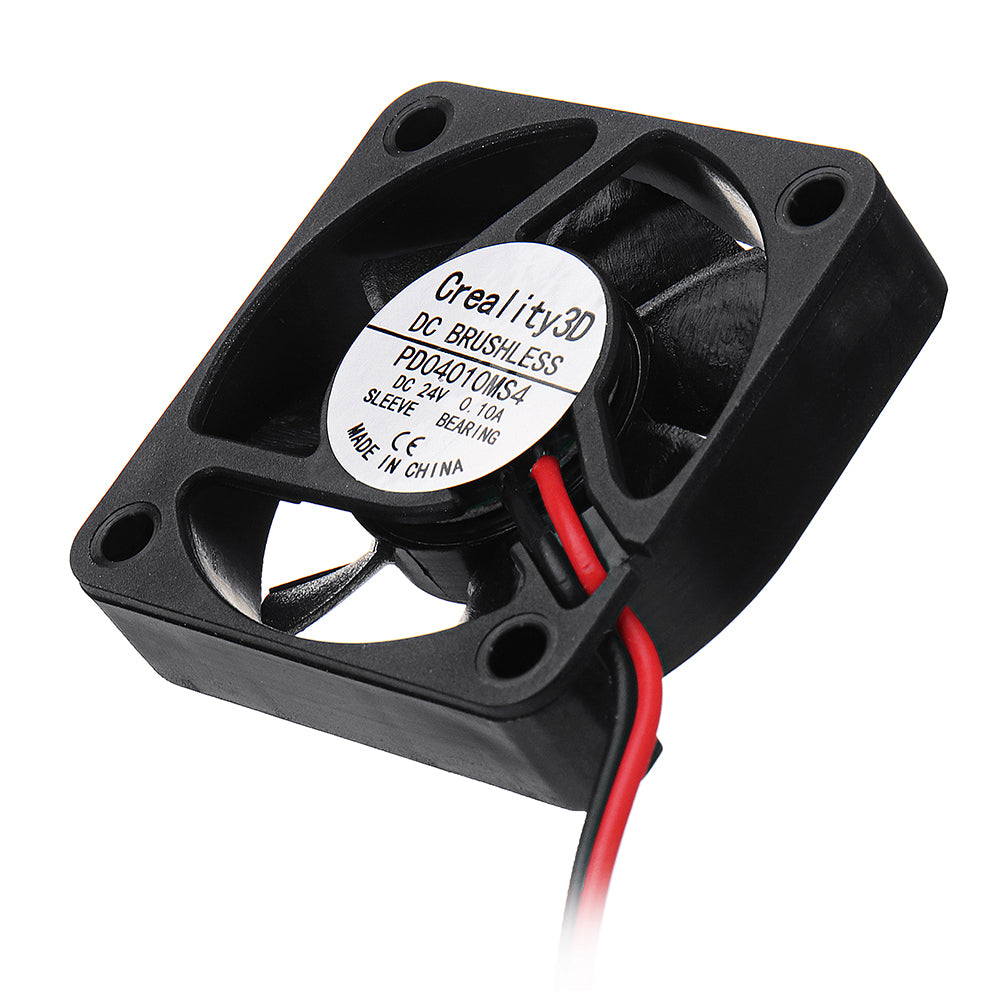 5pcs Creality 3D® 40*40*10mm 24V High Speed DC Brushless 4010 Cooling Fan For Ender-3 3D Printer