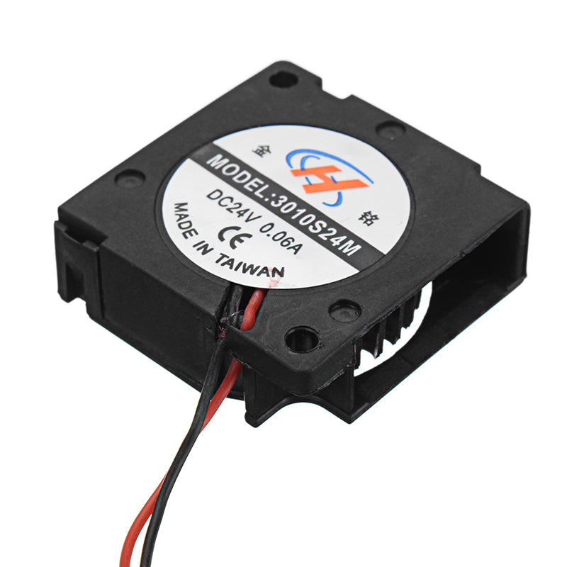 JGAURORA® 30*30*10mm Turbo Cooling Fan with Line for 3D Printer