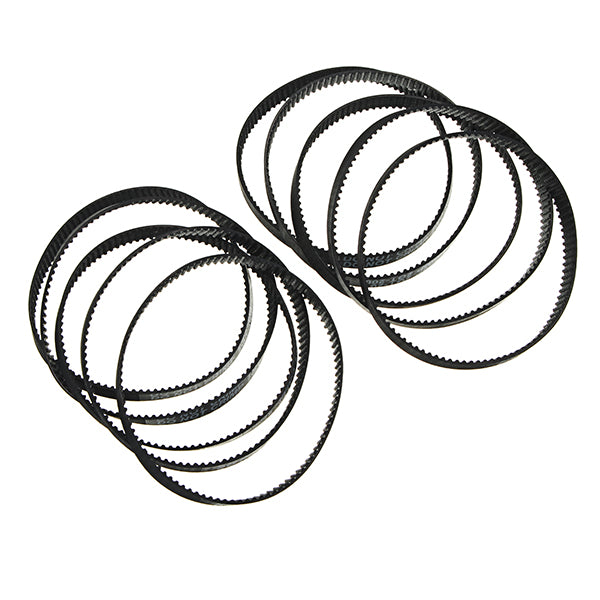 FLSUN® 10PCS GT2 Loop Rubber 6mm Width 2mm Pitch 200-2GT Timing Belt For 3D Printer
