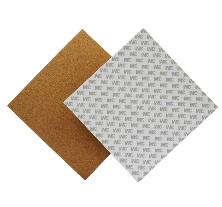 220*220*3mm Heated Bed Hotbed Thermal Pad Insulation Cotton With Cork Glue For 3D Printer Reprap Ultimaker Makerbot