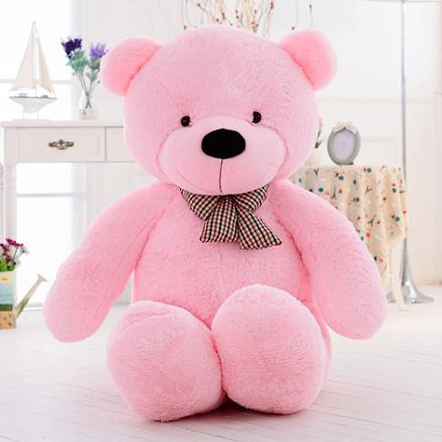 6ft Life-Size Teddy Bear Pink Bear
