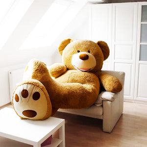 Life Size Teddy Bear  6ft - Boo Bear Factory