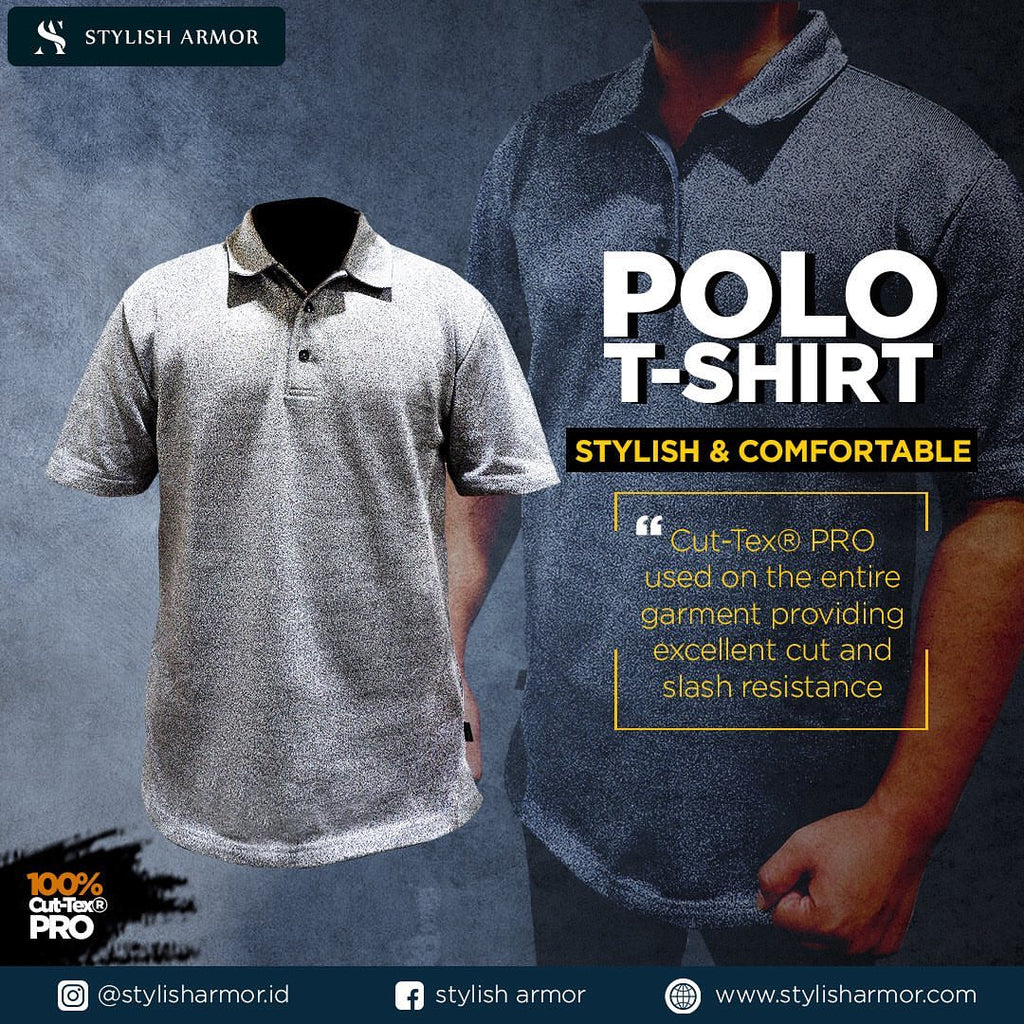 Stylish dan Safety dengan Polo T-Shirt Stylish Armor