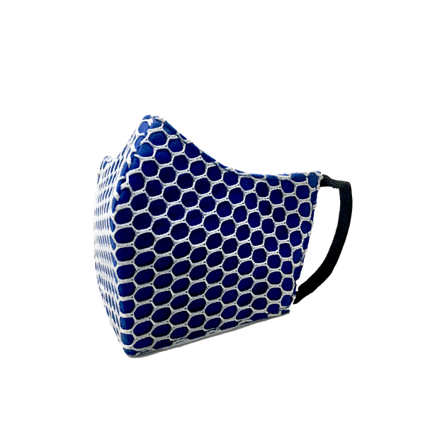 STYLISH ARMOR Silver Antimicrobial 3ply net (Available in 8 color) Earloop or Headloop