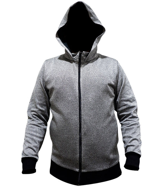 STYLISH ARMOR Hoodie Rib Cuff Sweatshirt with Side Pocket