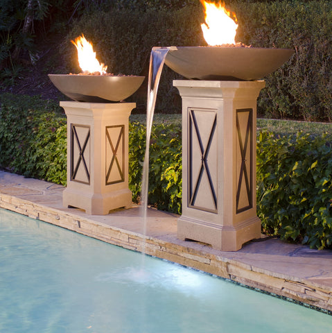 "American Fyre Designs 32"" Marseille Gas Fire Bowl"