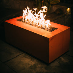 Fire Pit Art Linear 60in Gas Fire Pit Propane Natural Gas AWEIS