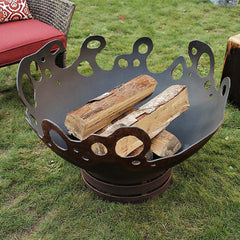 Cedar Creek Sculptures Riptide Fire Pit