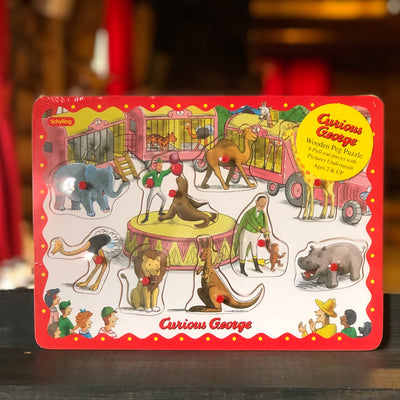Curious George Peg Puzzle