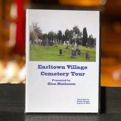 Earltown Cemetery Tour DVD