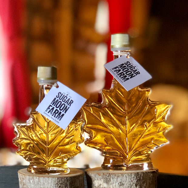 Glass Leaf Maple Syrup