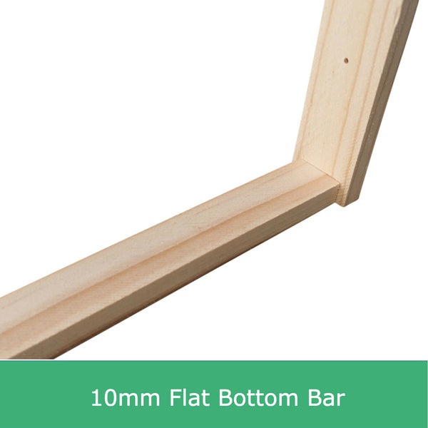 Ideal size flat bottom bar