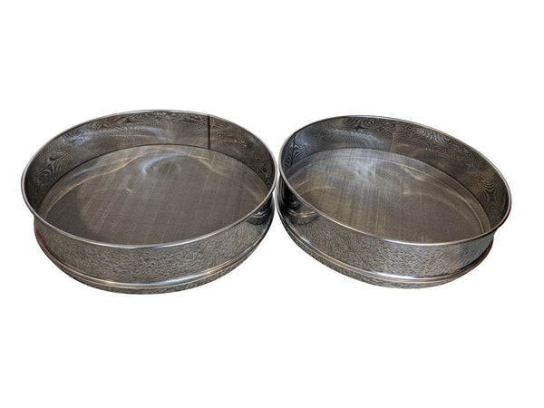 Stainless Steel Double Filter Honey Strainer Sieve