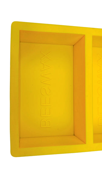 Silicon Beeswax Mold - 2 x 1 lb Cavity