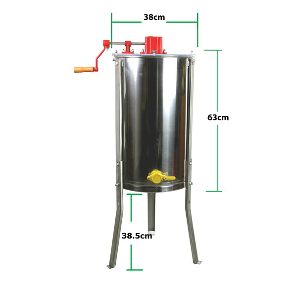 3 Frame Honey Extractor Spinner Dimensions