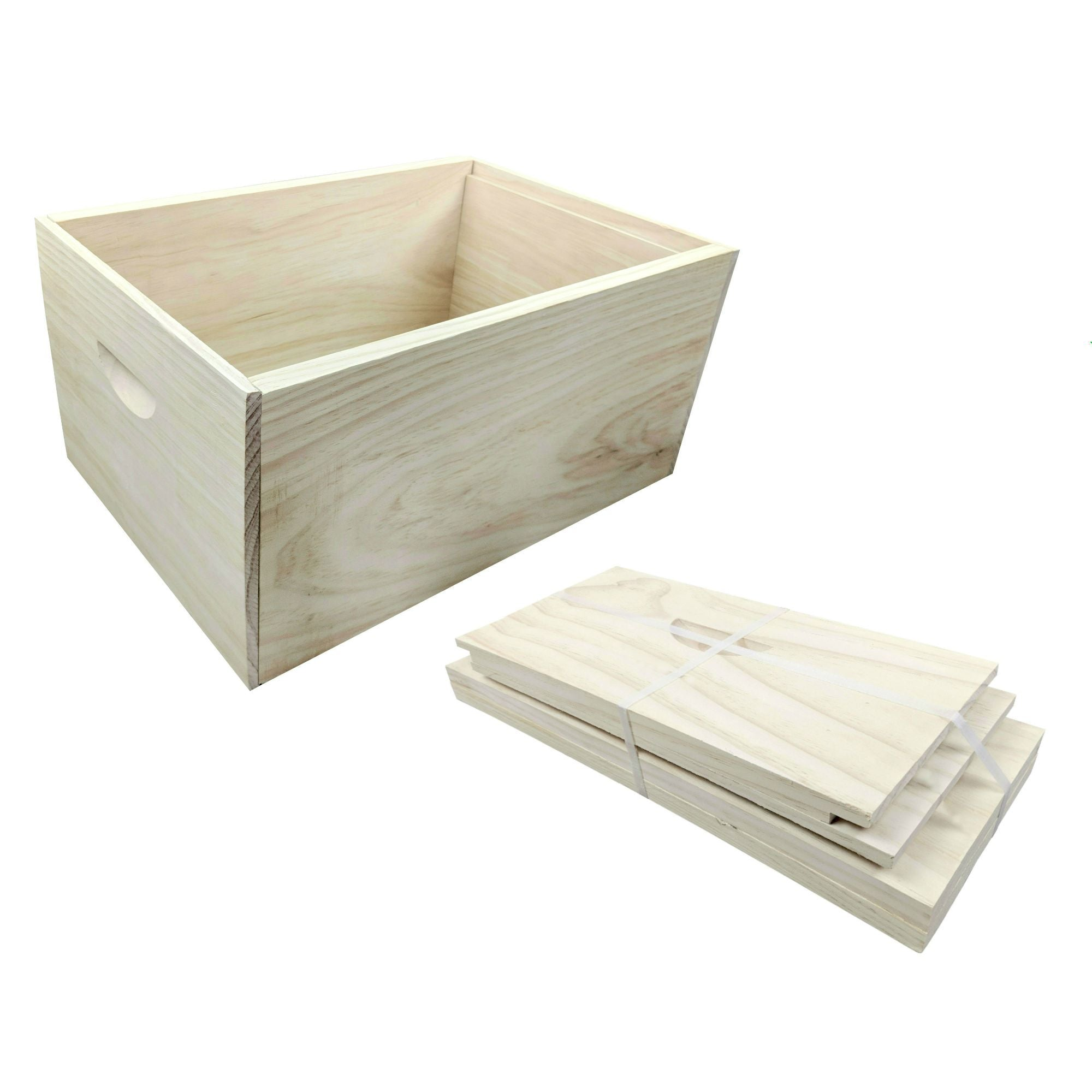 10 Frame Beehive super box rebate joint