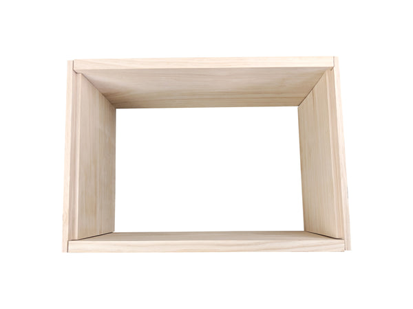 8 Frame Full Depth Deep Super Box - Flat Pack - Rebate Joints
