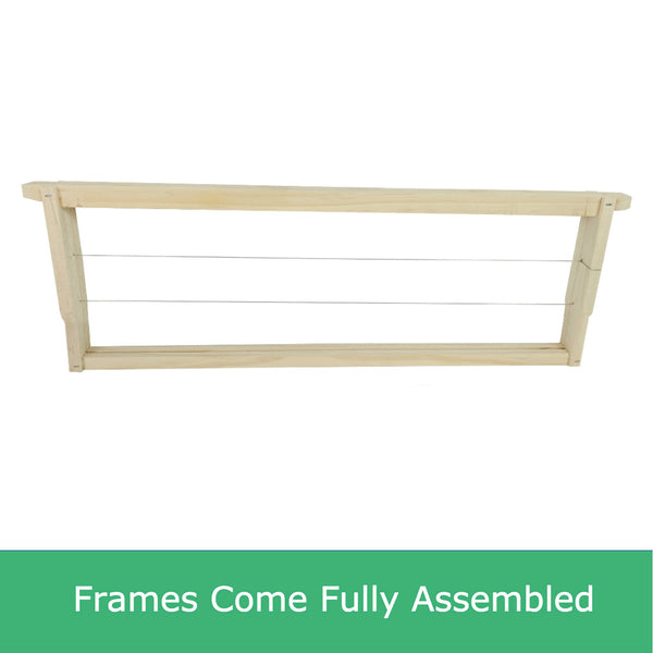 Assembled Ideal size beekeeping frames