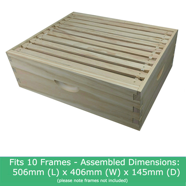 10 Frame Ideal Super Box Dovetail Joints Bee Hive Beehive Boxes Supers