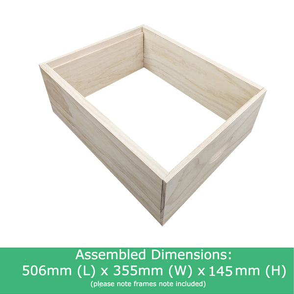 8 Frame Ideal Beehive Super BoxRebate Joint