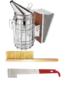Beekeeping Starter Kit includes smoker hive tool and brush