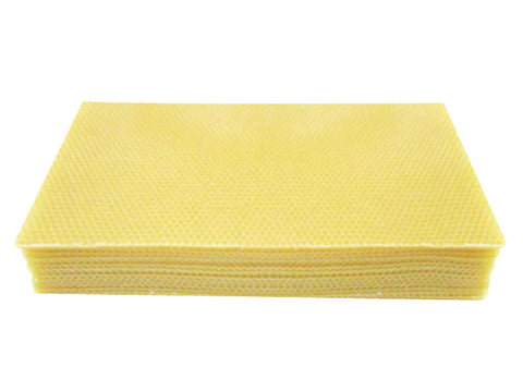 Beeswax Foundation sheets -100% Pure Australian Bees Wax - Full Depth Size
