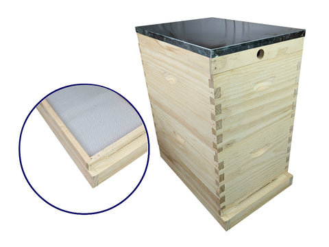 Complete Beehive Kit Bee Hive Mesh Base