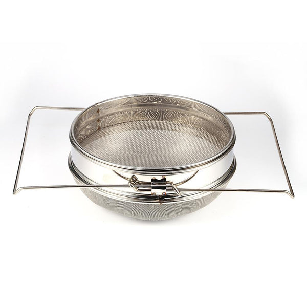 Stainless Steel Double Honey Strainer Filter