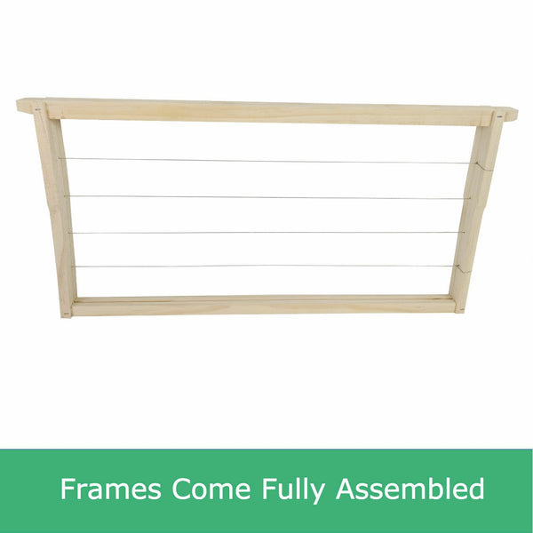 Beehive Double combo kit, 2 super and assembled frames
