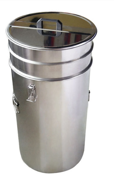 Double Stainless Steel Filter - Diameter 37cm