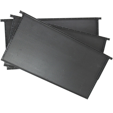 Black Plastic Beehive Frames for Beekeeping Full Depth Langstroth Frames for Deep Hive
