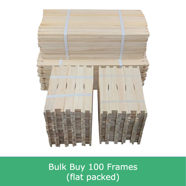 Full Depth beekeeping frames timber wood Deep Langstroth Pine New Zealand