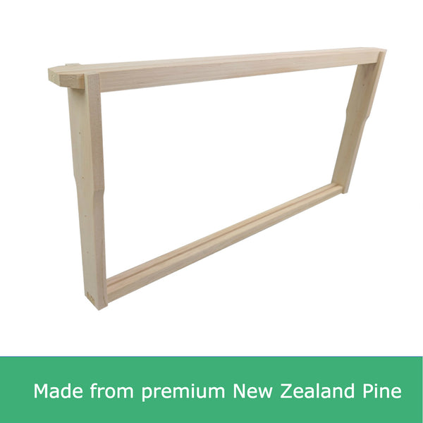 Unassembled Full Depth New Zealand Pine Timber Beekeeping Frames Deep Wooden Wood
