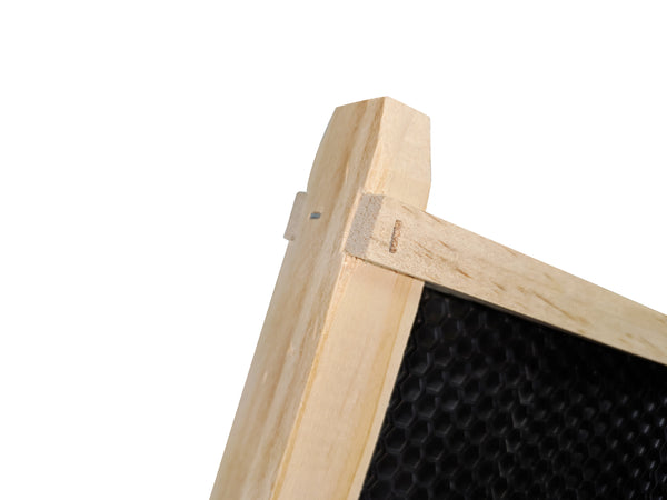 Assembled Full Depth Timber Beekeeping Frame With Plastic Foundation