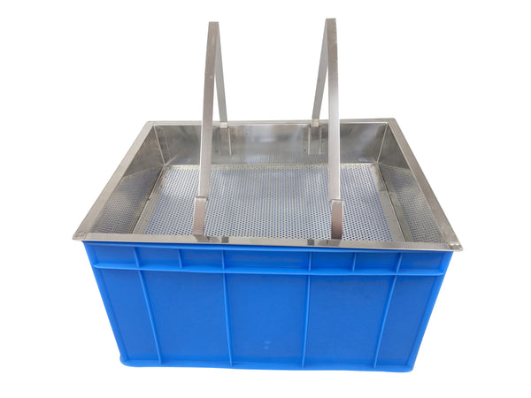Plastic Uncapping Tray / Station For Uncapping Honey Frames