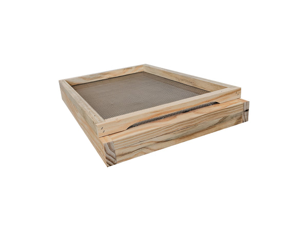 8 Frame Beehive Base ventilated mesh with drawer
