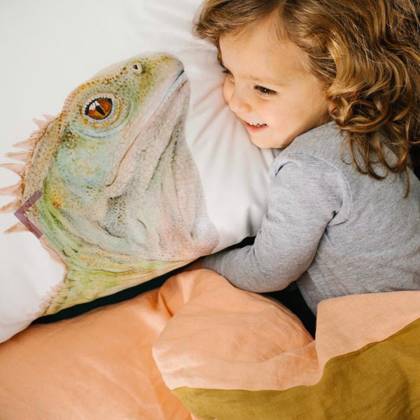 Pillowcase - Triton the Tuatara