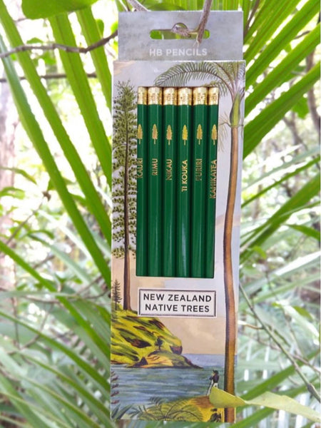 NZ Trees Pencils