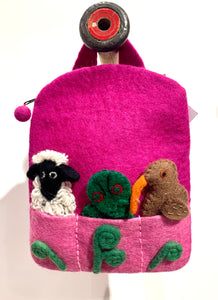 Felt Finger Puppet Back Pack