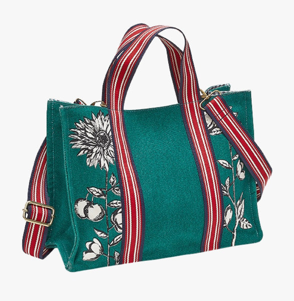 Bag Green Crossbody Shopper