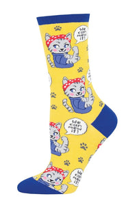 Socks - Women's We Can Mew It
