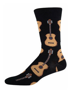 Men's Sock - Guitar