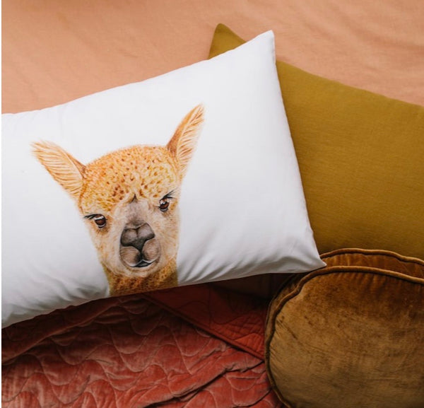 Pillowcase - Alice the Alpaca