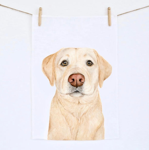 Tea Towel - Labrador
