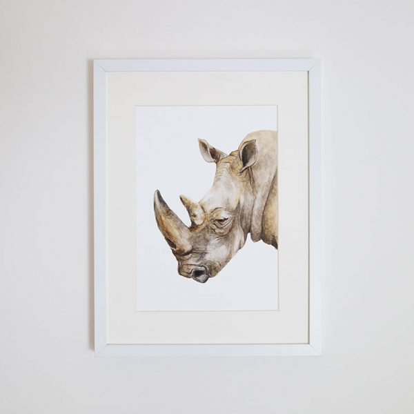 Print – Reg the Rhino