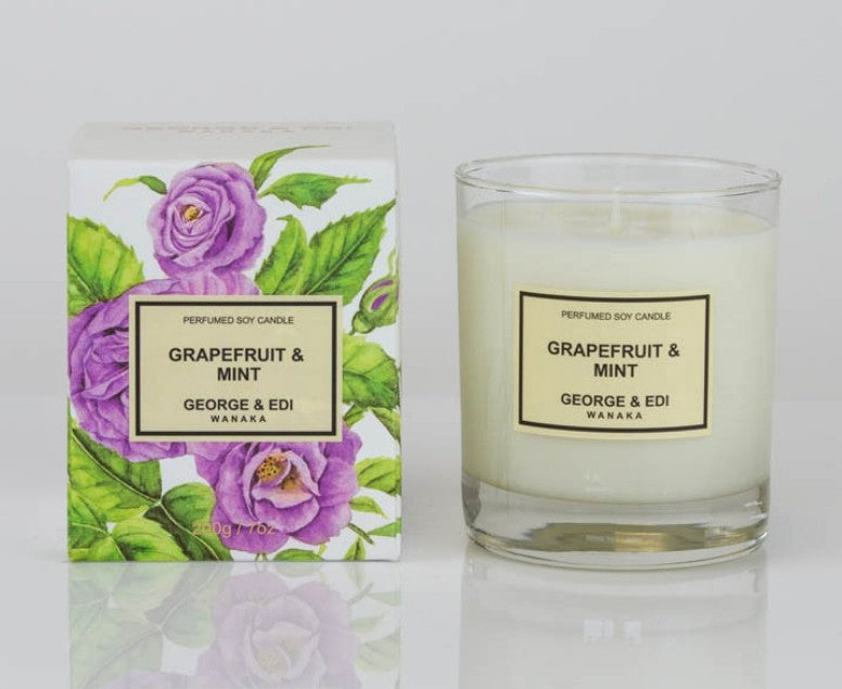 G&E Candle - Grapefruit and Mint