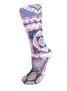 CS Couture Trouser Sock - Pastel Marakesh