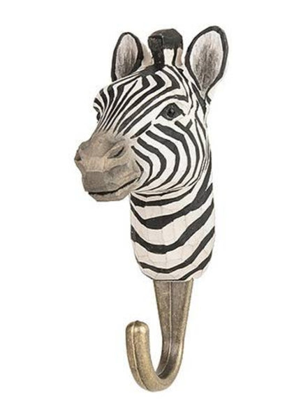 Wooden Zebra Hook